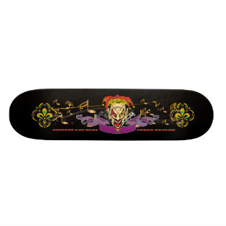 Skateboard-The-Joker-set-1-Black Skateboard Deck