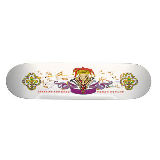 Skateboard-The-Joker-set-1-White-with-text Skateboard Deck