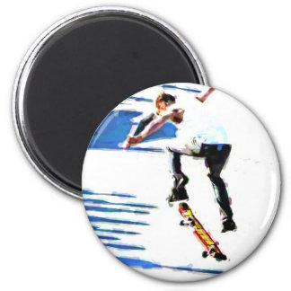 Skateboard Tricks Magnet