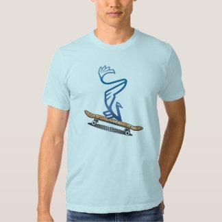 Skateboard Vanbird Blue Shirt