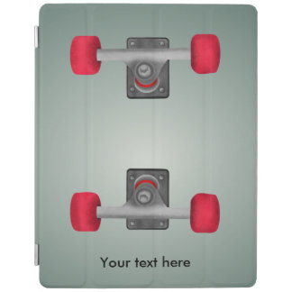 Skateboard Wheels Bolted On Illusion iPad Cover