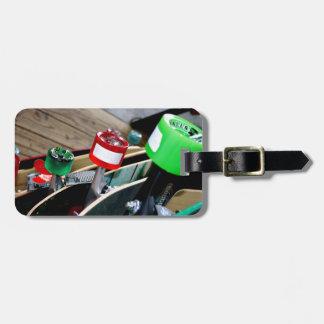 Skateboard Wheels Luggage Tag