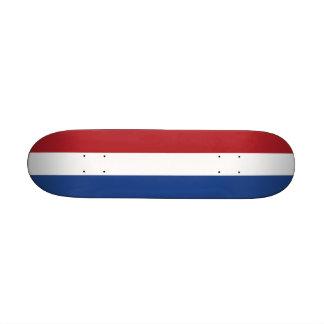 Skateboard with flag of Netherlands