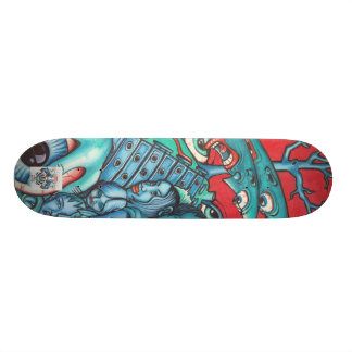 Skateboard with original Bogey graphics