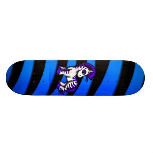 Skateboard - Zoe Zebra