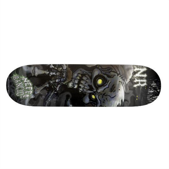skateboard zombie