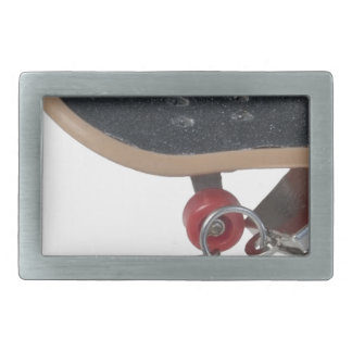 SkateboardAndHandcuffs081914 copy Rectangular Belt Buckle