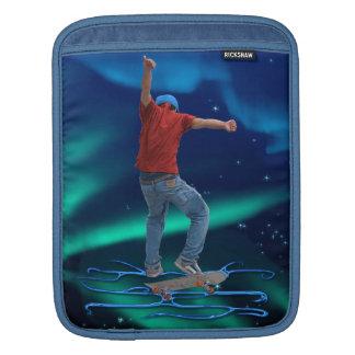 Skateboarder 2 & Aurora Action Sports Art Sleeve For iPads