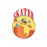 Skateboarder #4 post card