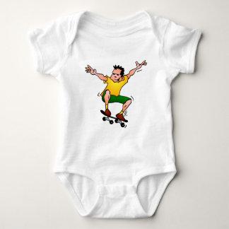 Skateboarder Baby Bodysuit