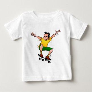 Skateboarder Baby T-Shirt