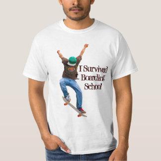Skateboarder Boarding School Funny Street Shirt