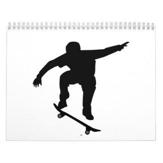 Skateboarder Calendar