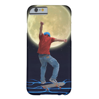 Skateboarder & Full Moon 2 Action Sports Art Barely There iPhone 6 Case