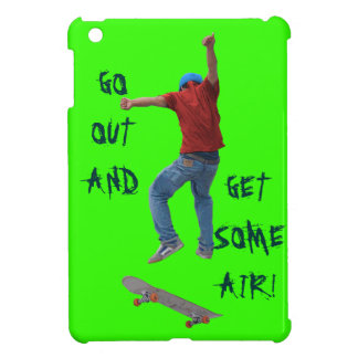 Skateboarder Get Some Air Action Street Kulcha Art iPad Mini Case