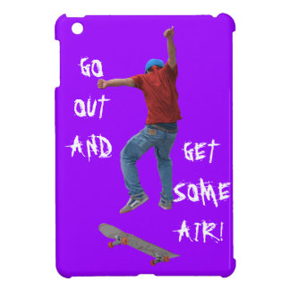Skateboarder Get Some Air Action Street Kulcha Art iPad Mini Cover