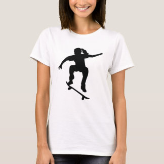 Skateboarder girl T-Shirt