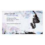 Skateboarder Grunge Business Card