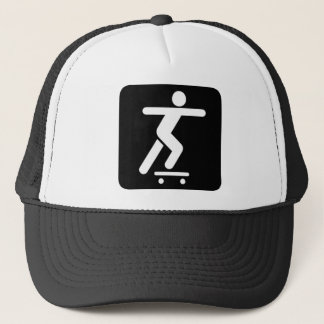 Skateboarder Icon Hat