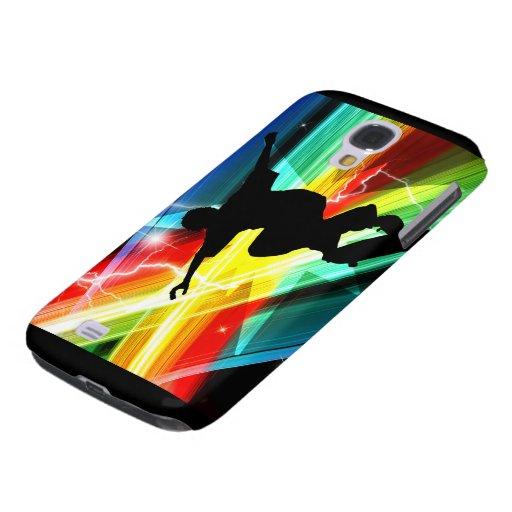 Skateboarder in Criss Cross Lightning HTC Vivid Case