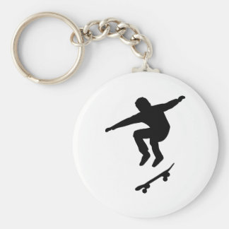 Skateboarder Keychain
