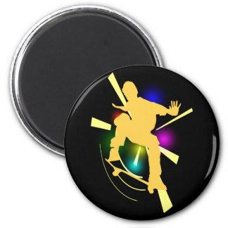 Skateboarder Magnet
