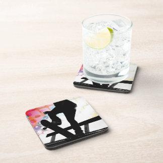 Skateboarder Silhouette Drink Coaster