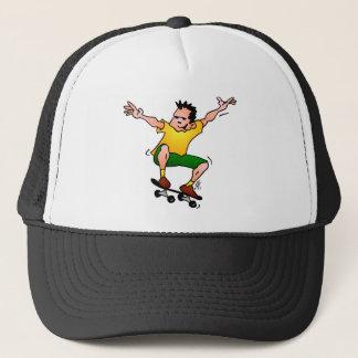 Skateboarder Trucker Hat