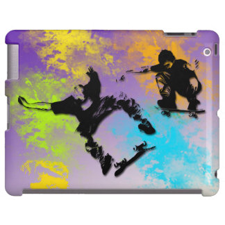 Skateboarders iPad Barely There Case-Mate Case