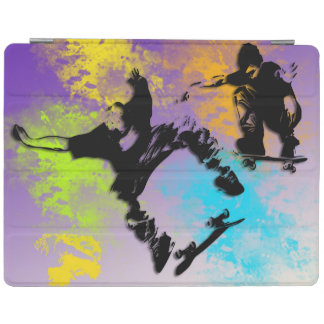 Skateboarders Magnetic iPad 2/3/4 Cover iPad Cover