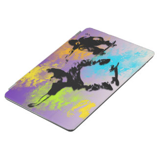 Skateboarders Magnetic iPad Air Cover