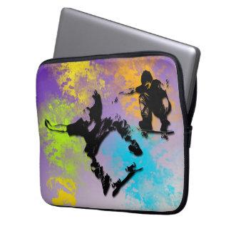 Skateboarders Neoprene Electronics Bag Laptop Computer Sleeve