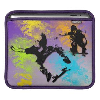 Skateboarders Rickshaw iPad Sleeve