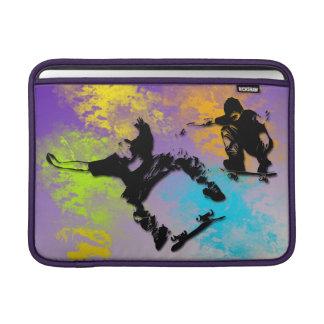 Skateboarders Rickshaw MacBook Air Sleeve