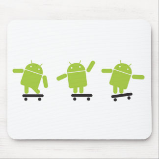 Skateboarding Android Mouse Pad