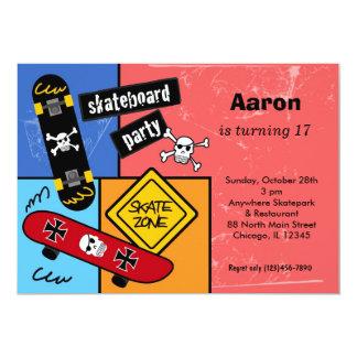 Skateboarding Birthday Card
