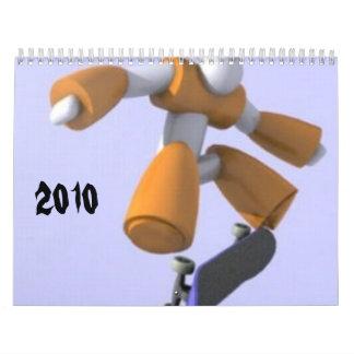 Skateboarding Calendar 2010