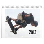SkateBoarding Calendar, Copyright Karen J Williams