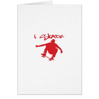 Skateboarding Card