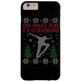 SKATEBOARDING CHRISTMAS BARELY THERE iPhone 6 PLUS CASE