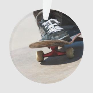 Skateboarding Closeup Ornament