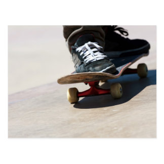 Skateboarding Closeup Postcard