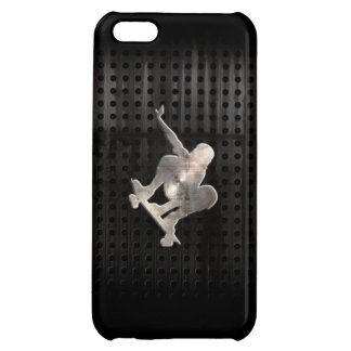 Skateboarding; Cool Black iPhone 5C Cases