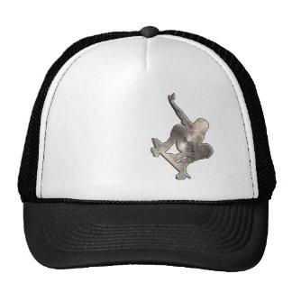Skateboarding; Cool Black Trucker Hat