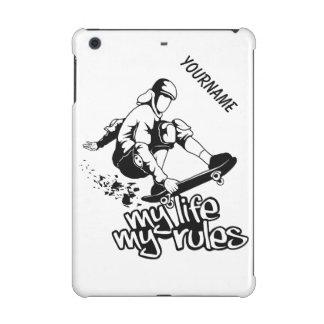 Skateboarding custom color & monogram cases iPad mini retina case