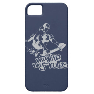 Skateboarding custom iPhone case