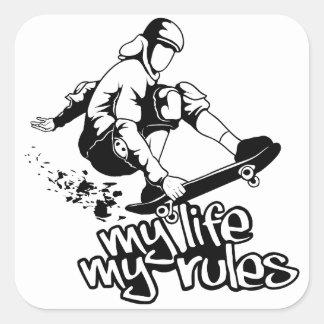 Skateboarding custom stickers