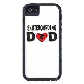 Skateboarding Dad iPhone 5 Case