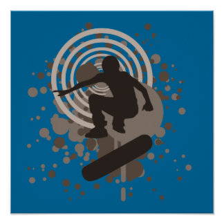 skateboarding de la alta fidelidad: burbujas: póster