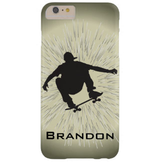 Skateboarding Design Electronics Case Barely There iPhone 6 Plus Case